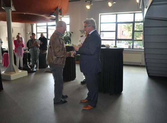 diploma-uitreiking aan blinden en slecht zienden door het Vlaamse Kruis