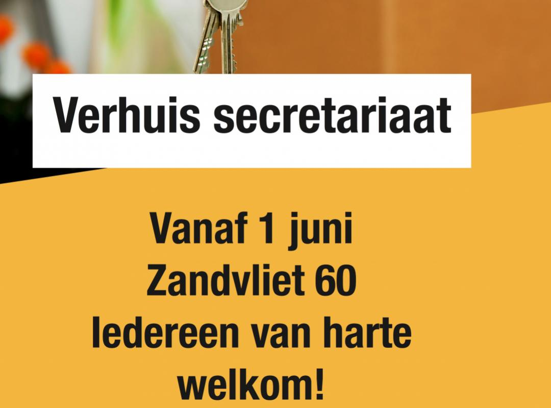 verhuis secretariaat